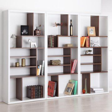 contrast modern bookcase - bookcases at hayneedle MUNQOHH