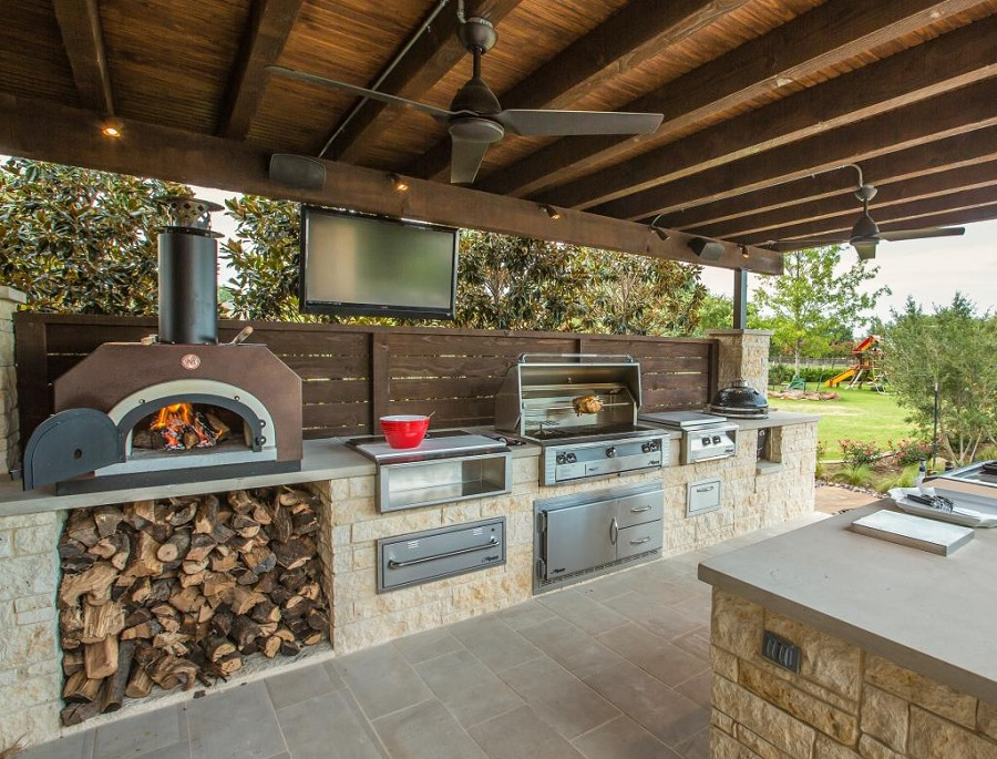 cook outside this summer: 11 inspiring outdoor kitchens MIXNYHJ