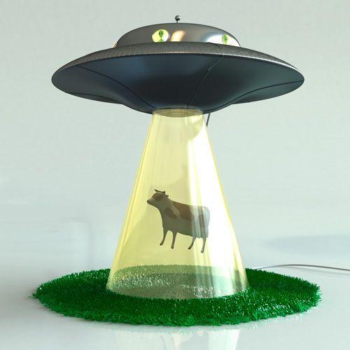cool lamps i so want this alien abduction lamp! (it sure beats the alien probe YWXFXRH
