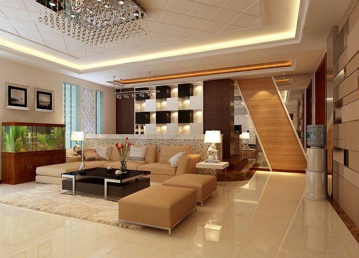 cool living room ideas neutral-cool-living-room-idea-aquarium.jpg (1021×736) | complete living room  set ups | pinterest | living GFOIAVJ