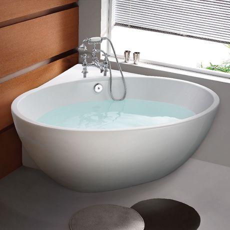 corner baths orbit corner modern free standing bath (1270 x 1270mm) TEVLLYK