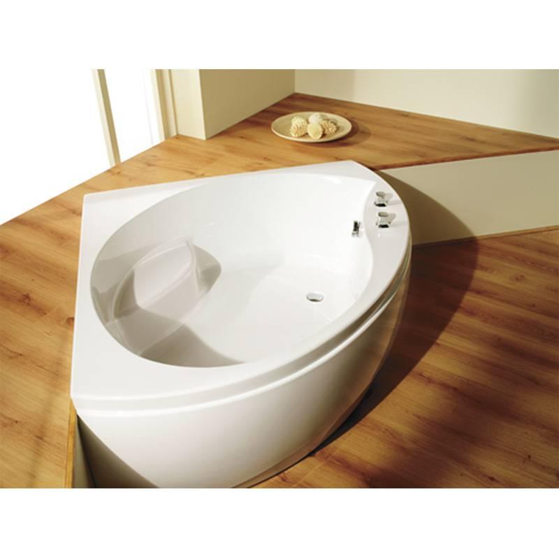 corner baths tranquillity 1300 x 1300 corner bath and panel - 16914 ASOUXKK