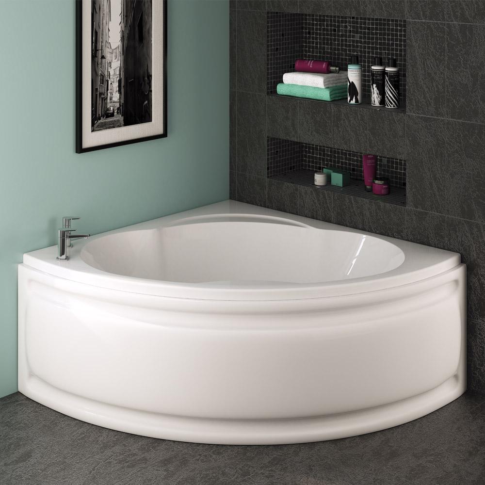 Stylish corner baths