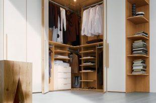 corner wardrobe suggestions for wardrobe in small apartment TEFHWJG