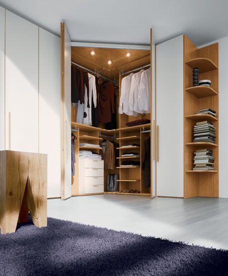 Why to buy corner wardrobe