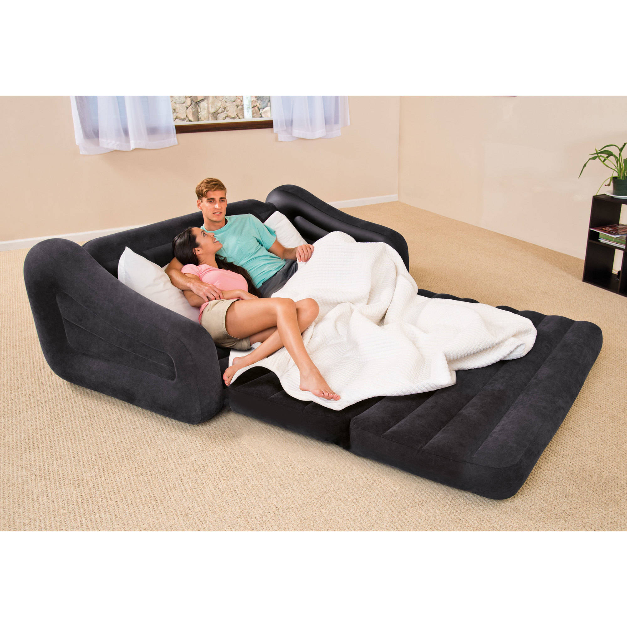 couch bed intex queen inflatable pull out sofa bed ZFNAUOH