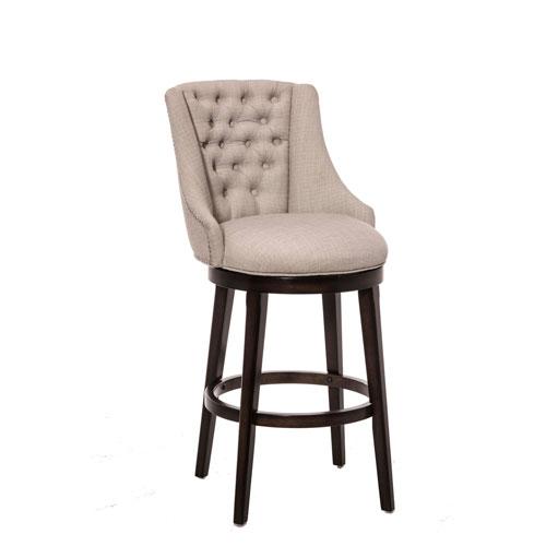 counter height stools halbrooke smoke swivel counter stool ATEDMNS