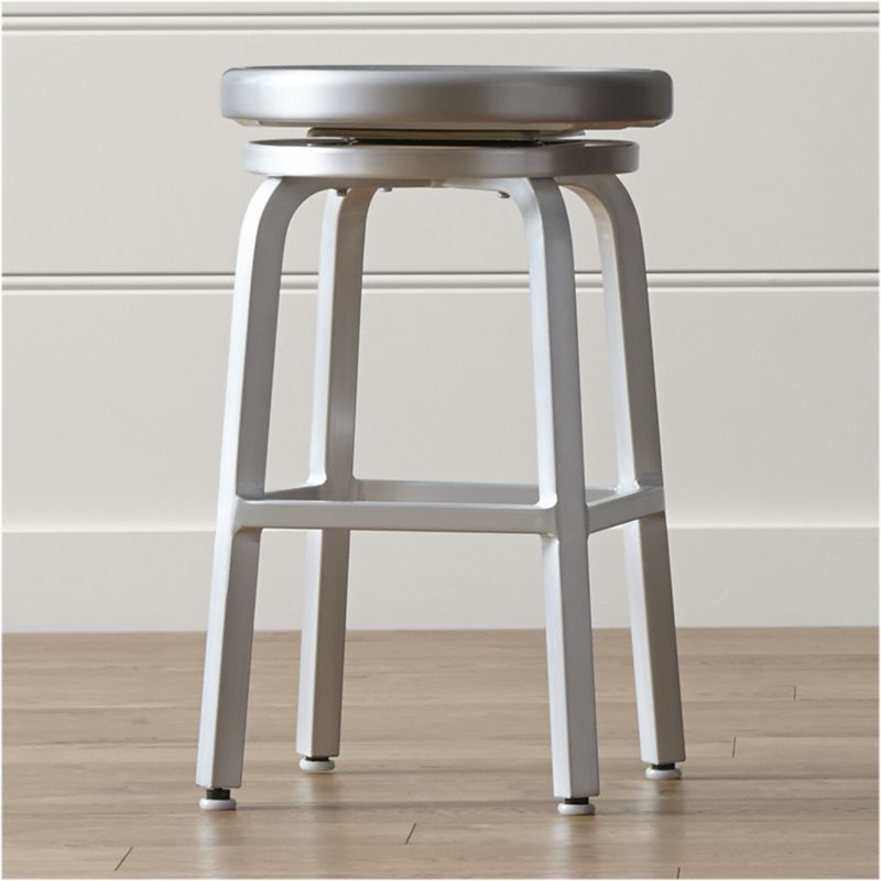 counter height stools spin swivel backless counter stool RQZYKYG