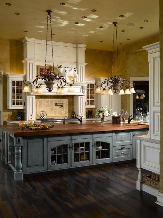 country kitchen 32-dream-kitchen-designs - get the perfect kitchen for you through 51 AWKKMGU