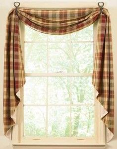 country kitchen curtains i love the idea of draping my kitchen curtains like this. VTBIHPD