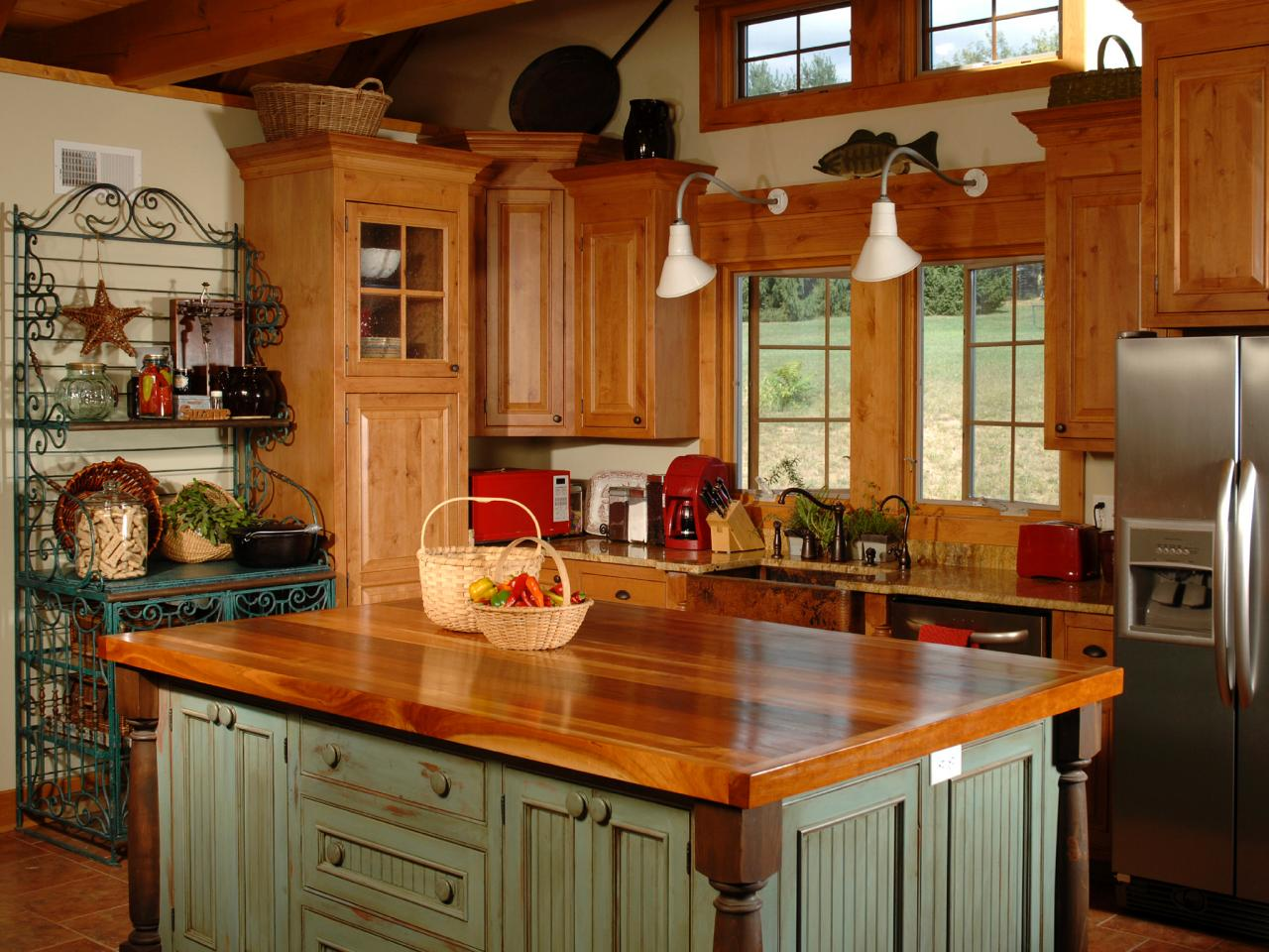 country kitchen islands EQMLRET