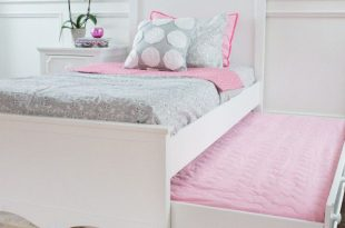 craft charleston white girls bed with white trundle bed FKRBVOR