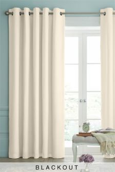 cream curtains cotton eyelet blackout curtains studio collection by next ORCYQNP