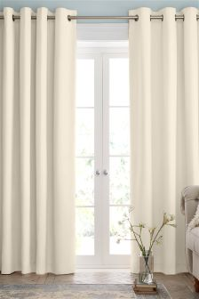 cream curtains cotton eyelet lined curtains studio collection by next SSKNOBG