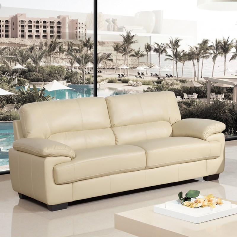 cream leather sofa ... cream leather an awesome cream leather ... EEYJBPG