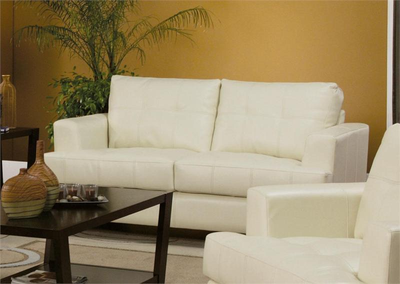 cream leather sofa cream leather loveseat samuel collection HNSLGQY