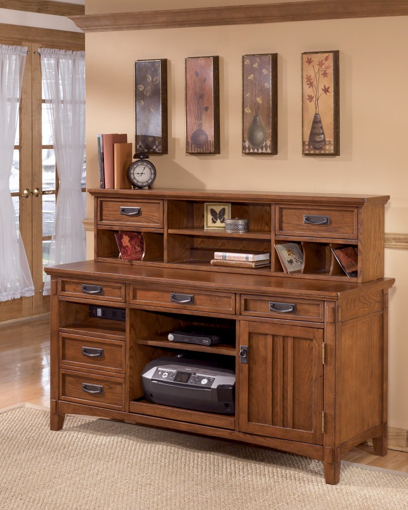 cross island - home office short desk hutch BWZEYHG