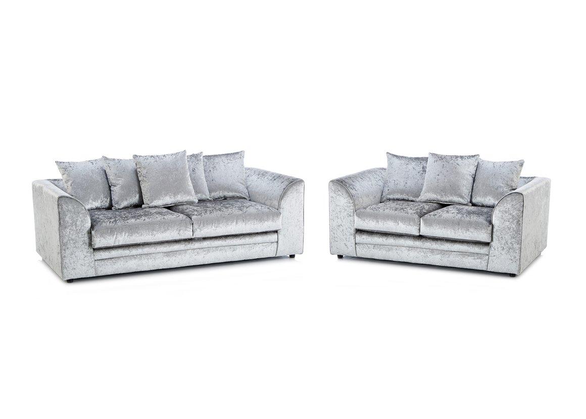 crushed velvet sofa crushed velvet sofas GGBIHWQ