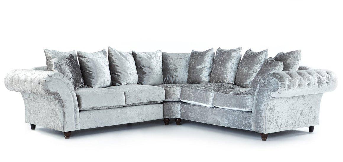 crushed velvet sofa crushed velvet sofas XURXIFB