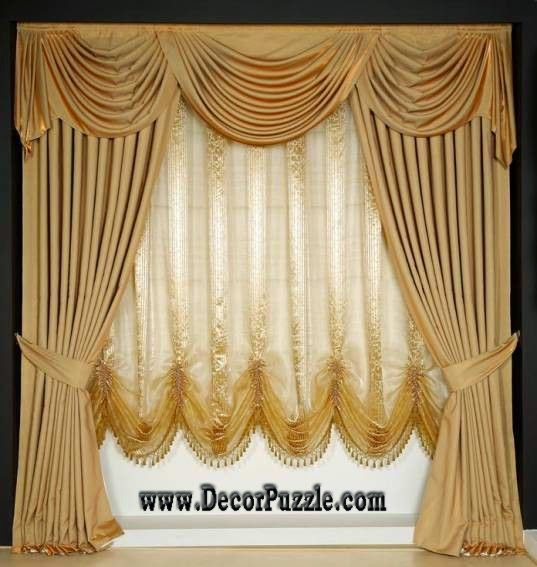 curtain styles luxury classic curtain style 2017, royal curtain designs and drapes EGMZOBJ