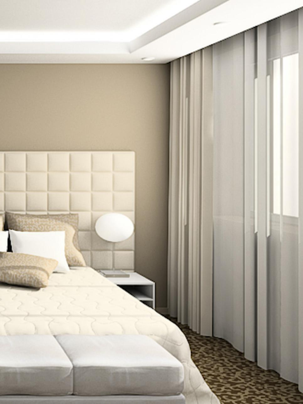 curtains for bedroom 7 beautiful window treatments for bedrooms | hgtv HGFOIRY