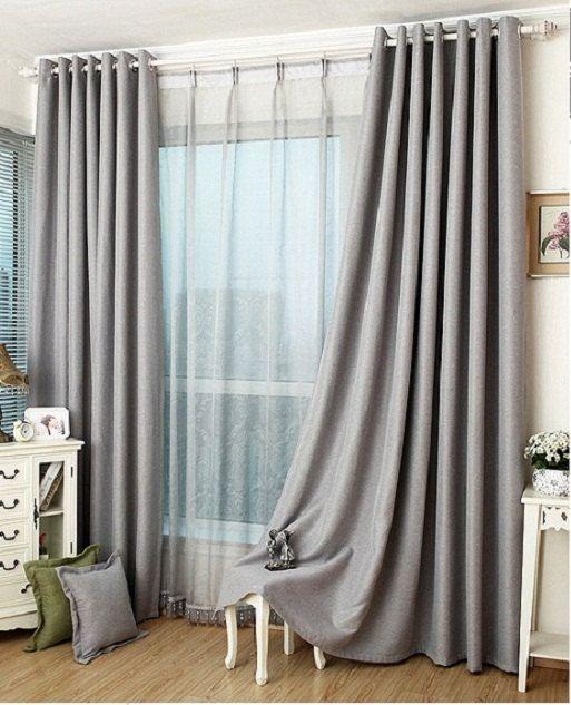curtains for bedroom slate grey blackout curtain / insulation curtain custom curtains (all size) VVAQGLQ