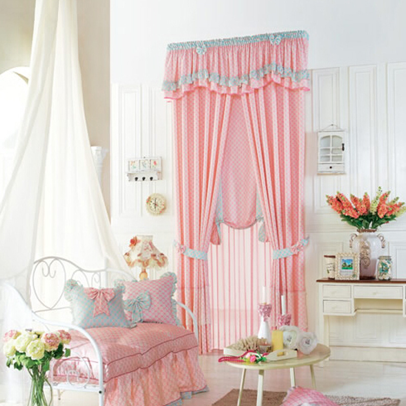 curtains for girls room luscious pink polyester plaid kids curtain for girls room NSNFAQK