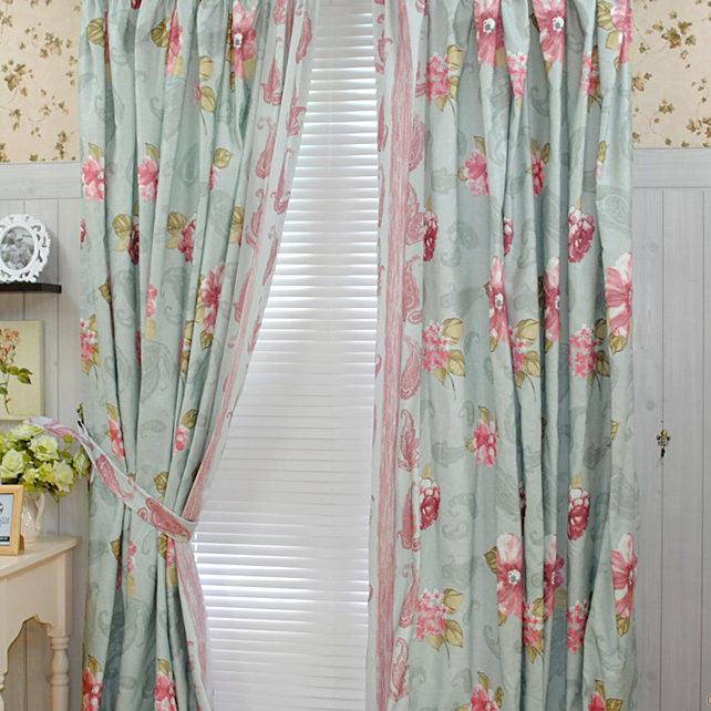 curtains for girls room room · bedroom country girls like cotton blending curtains ... KRKRPJB