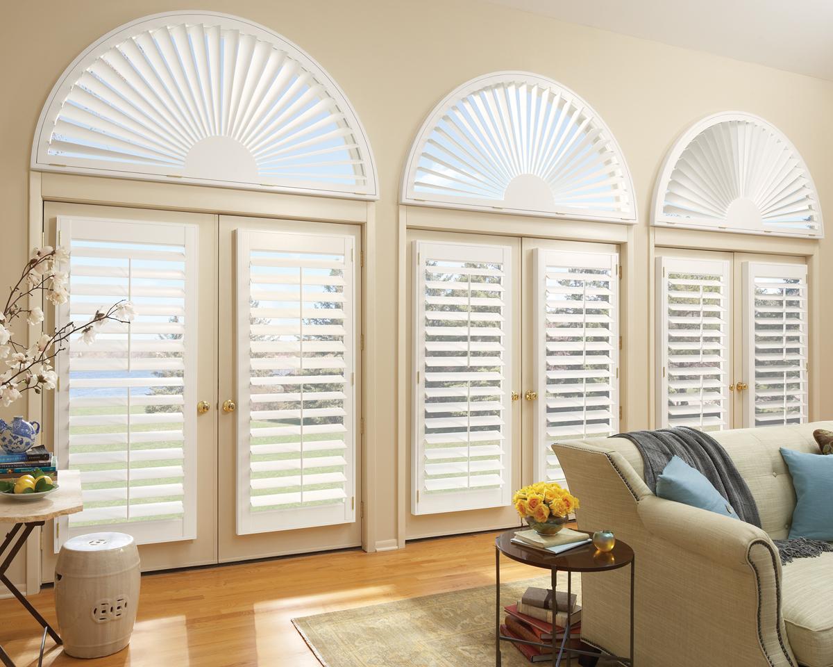 custom blinds newstyle® hybrid shutters with front tilt bar XYNNQRK