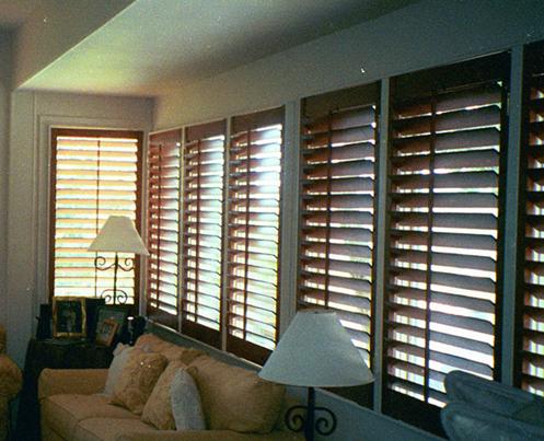 custom blinds stained shutters austin ... VTYUYKQ