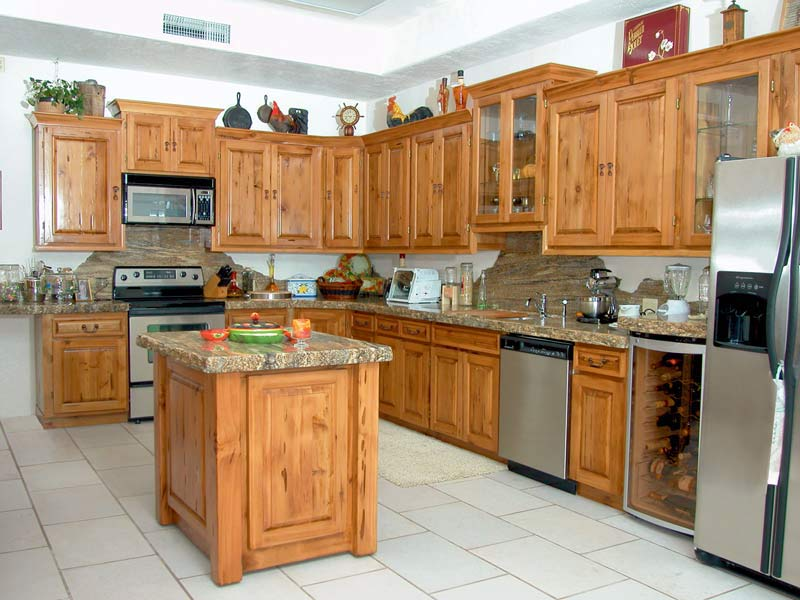 custom solid wood kitchen cabinets - kit960 ZKBXCBI
