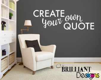 custom wall decals custom wall quote decal custom wall saying by walls2lifedecals LMDRIKN