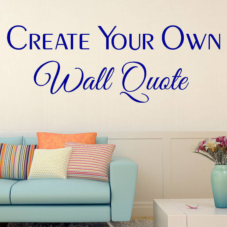 custom wall decals custom wall stickers by wall art quotes designs by gemma duffy SMEGPFI