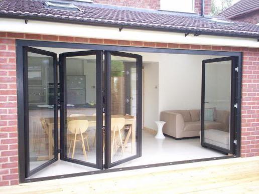 cute bi folding doors: the new thing in home improvement UZORTRQ