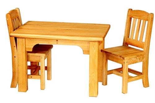 cypress kids table and chairs set from bradley brand furniture RZTBVDY