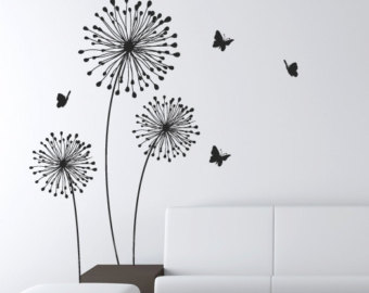 decals stylish modern flower decals for walls butterfly wall decals wall  sticker GIDLBBO