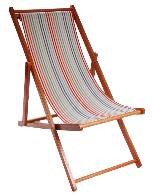 deck chair ascot 1 deckchair - ian mankin KITHMDG