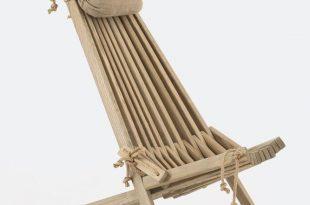 deck chair hardwearing-ash-deck-chair-with-linen-headrest AIRQWZA