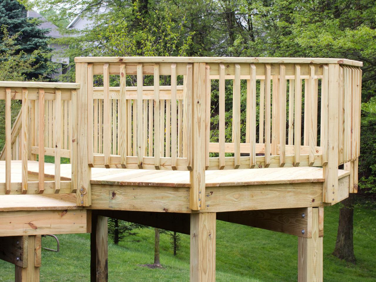 deck railing ideas deck railings: ideas and options KQIJAKL