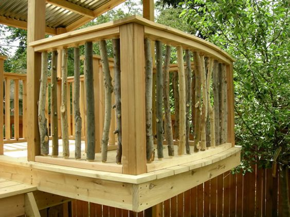 deck railing ideas this is another really neat idea for deck railing. you build the deck LNXXETD