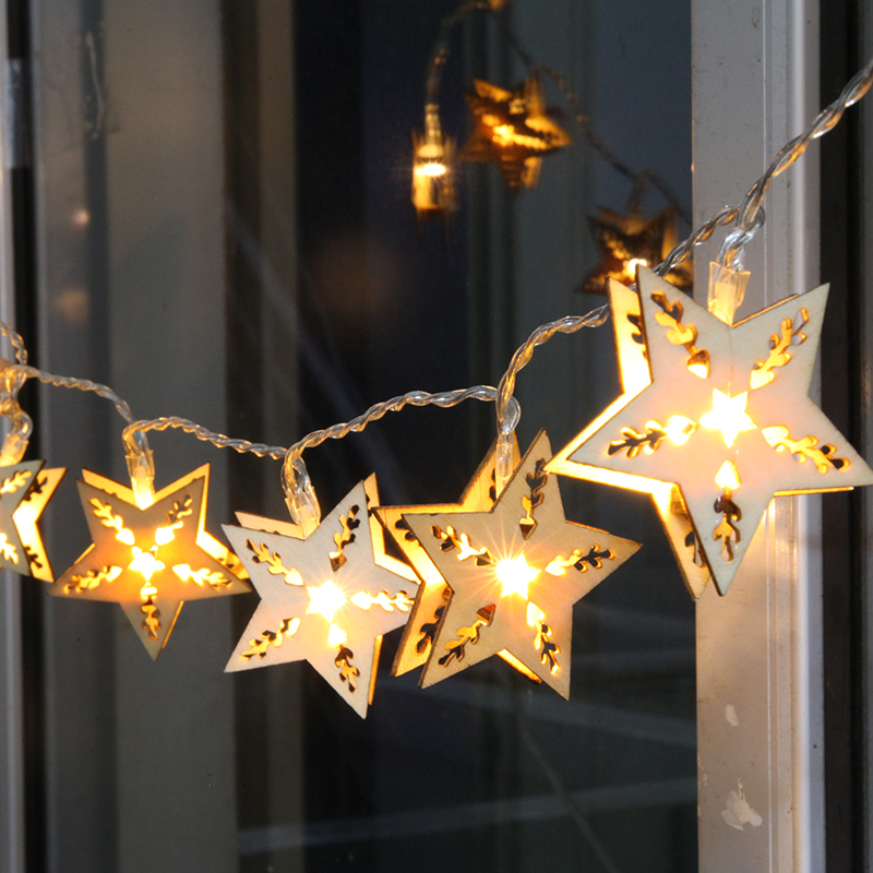 decorative lights elegant decorative lighting five pointed star led font b lights flashing  string RGEGDOX