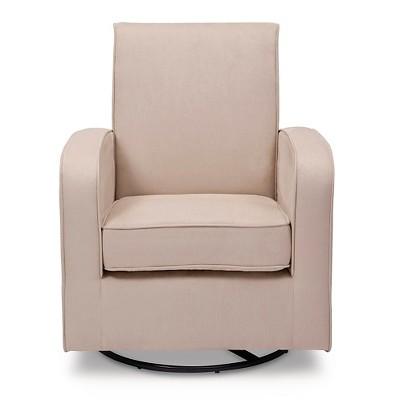delta children® clermont nursery glider swivel rocker chair - ecru CWAJUOA
