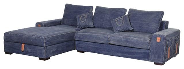 denim sofa covers FYBDXLJ