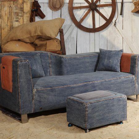 Denim sofa – always carrying a cool look