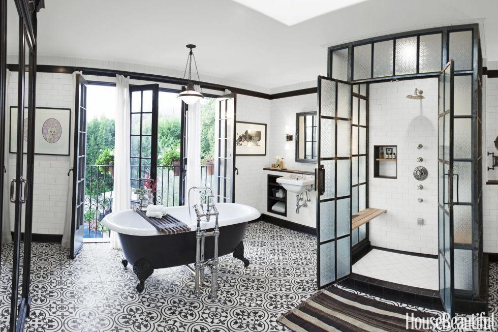 Designer bathroom 45 bathroom tile design ideas - tile backsplash and floor designs for OXVDUXH