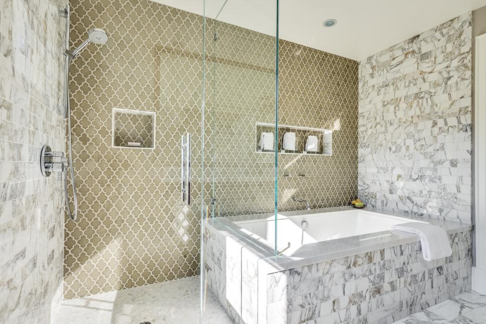Designer bathroom our 40 fave designer bathrooms | hgtv XFJEPVV