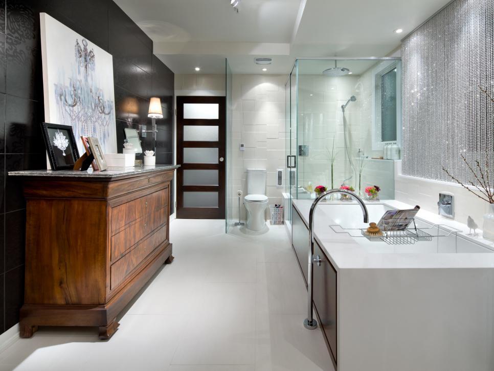 Designer bathroom our favorite designer bathrooms | hgtv VFTCMGF