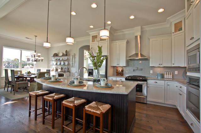 designer homes by celebration homes rustic-kitchen ALNZWKK