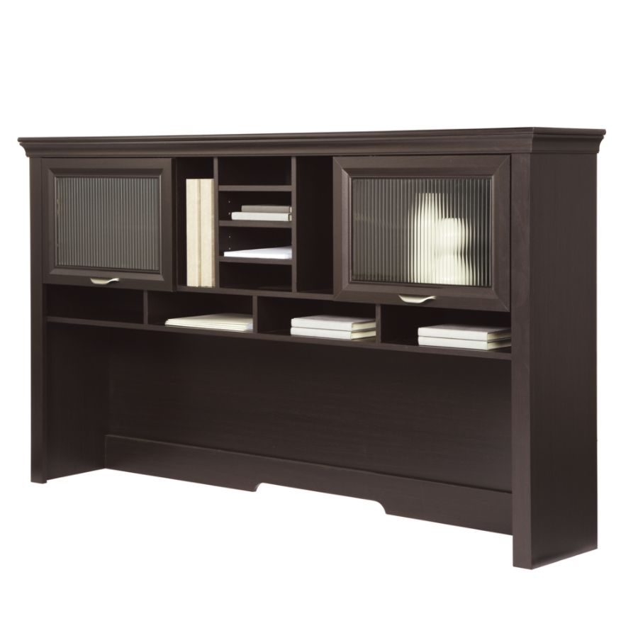 desk hutch realspace magellan performance collection hutch espresso LSRKHAN