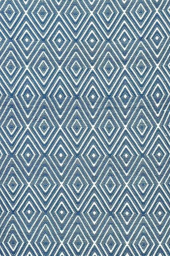 diamond denim/white indoor/outdoor rug FEBRTKM